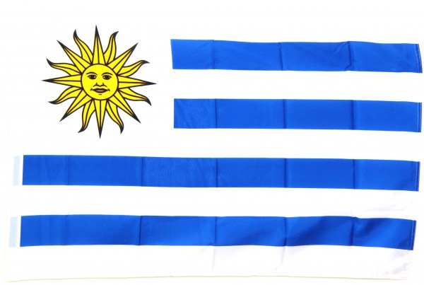 Uruguay Hohlsaumflagge 60x90 cm