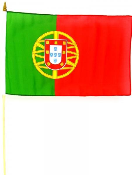 Portugal Stockfahne 30 x 45 cm