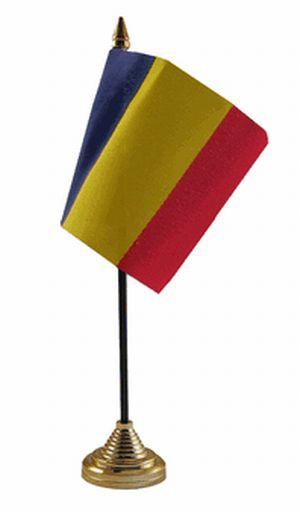 Rumänien Tischfahne 10x15cm