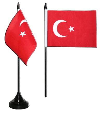 Türkei Tischfahne 10x15cm