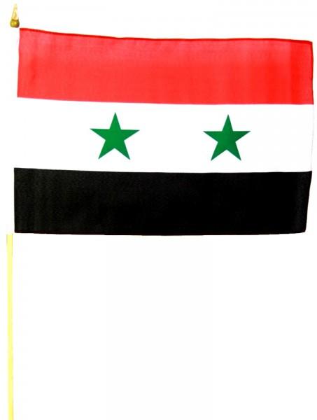 Syrien Stockfahne 30cm x 45 cm