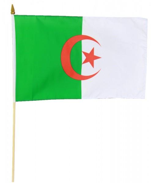 Algerien Stockflagge 30x45 cm
