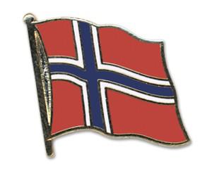 Norwegen Pin Flaggenpin