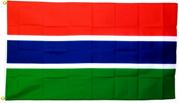 Gambia Flagge 90 x 150 cm