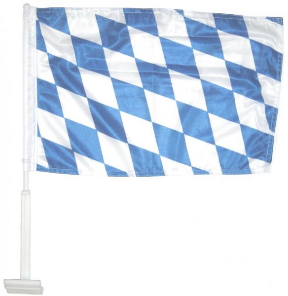 Bayern Autofahne Raute Bayern