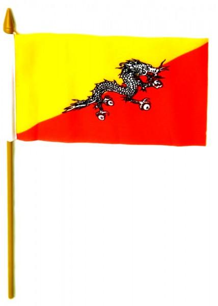 BhutanTischfahne 10x15cm