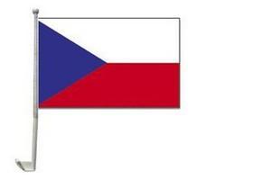 Tschechien Autofahne