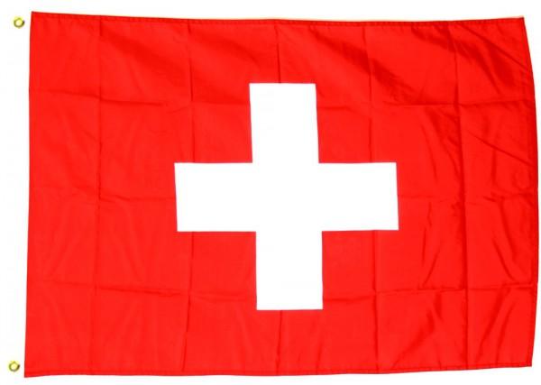 Schweiz Flagge 150x250cm