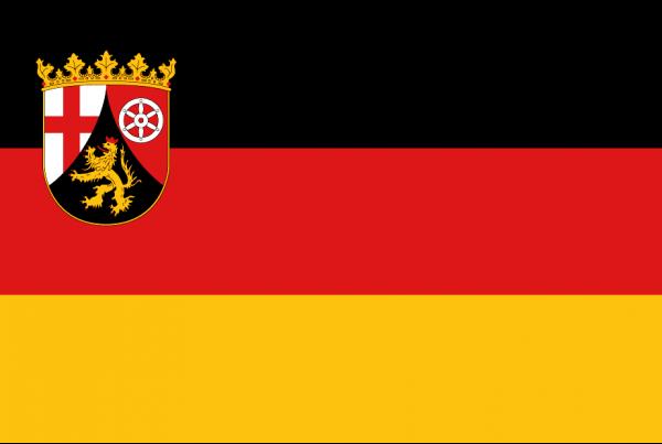 Rheinland-Pfalz Flagge 150x250 cm