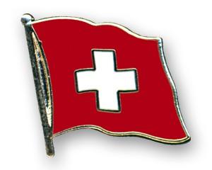 Schweiz Pin Flaggenpin