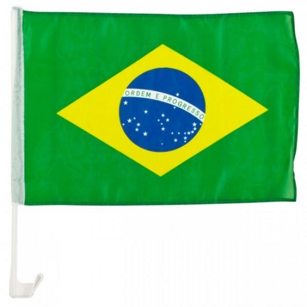 Brasilien Autofahne