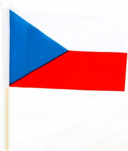 Tschechien Tischfahne 22,5x15cm