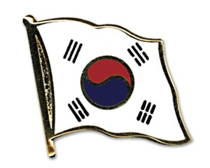 Südkorea Pin Flaggenpin