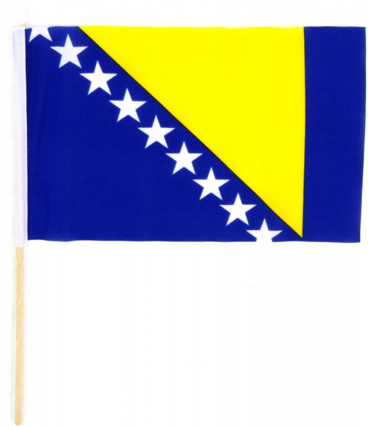 Bosnien Tischfahne 22,5x15cm