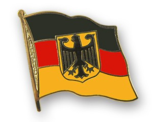 Deutschland Adler Pin Flaggenpin