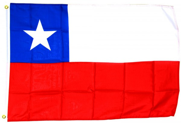 Chile Flagge 90 x 150 cm