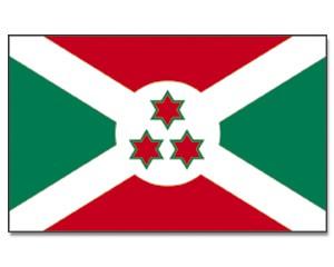 Burundi Stockfahne 30 x 45 cm