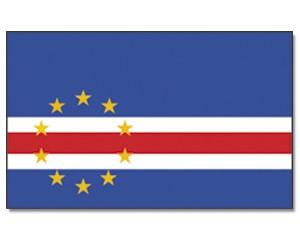 Kap Verde Stockfahne 30 x 45 cm