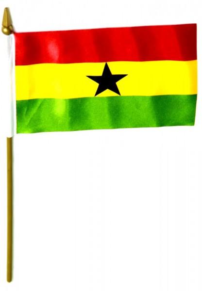 Ghana Tischfahne 10x15cm