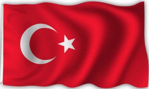 Türkeiflagge 90 x 150 cm
