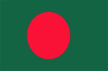 Bangladesch Stockfahne 30cm x 45 cm
