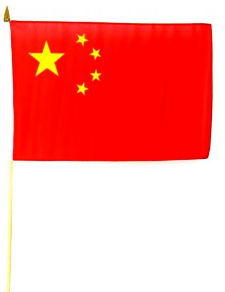 China Stockfahne 30cm x 45 cm