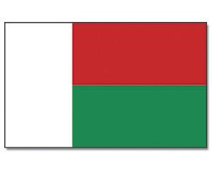 Madagaskar Flagge 90 x 150 cm