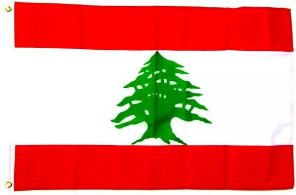 Libanon Flagge 90 x 150 cm