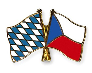Bayern-Tschechien Freundschaftspin Flaggenpin