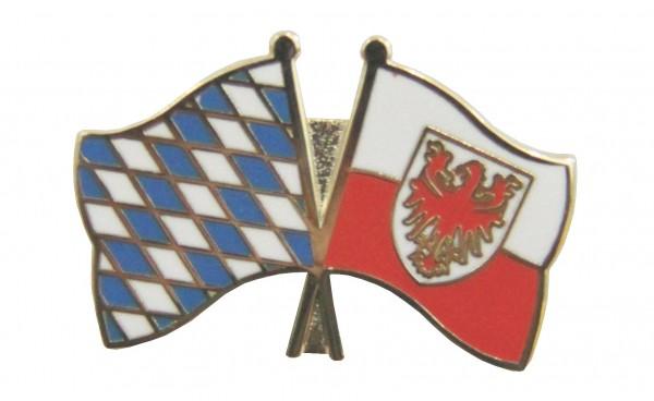 Bayern-Südtirol Freundschaftspin Flaggenpin