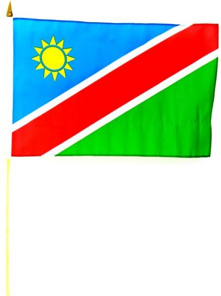 Namibia Stockfahne 30cm x 45cm