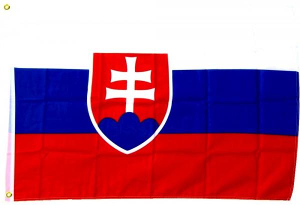 Slowakei Fahne/Flagge - 60cm x 90cm