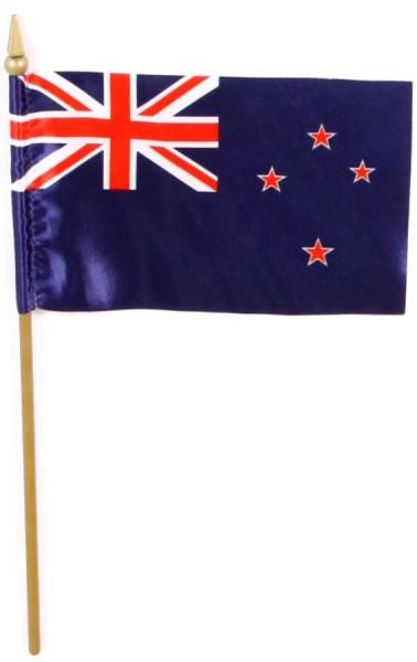 Neuseeland Tischfahne 10x15cm