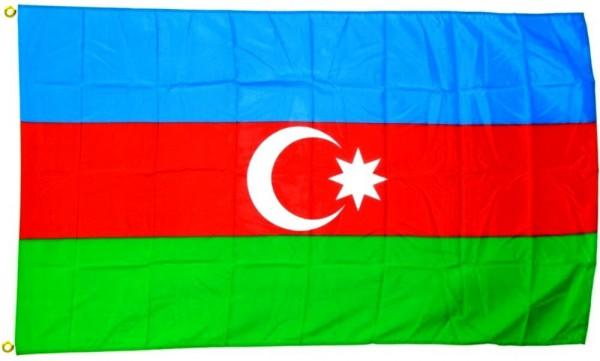 Aserbaidschan Flagge 90 x 150 cm