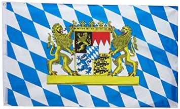 Bayern Flagge 150x250 cm