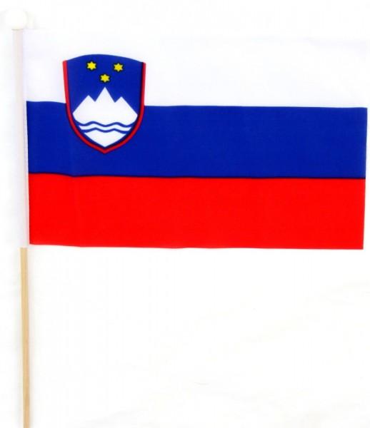 Slowenien Tischfahne 22,5x15cm