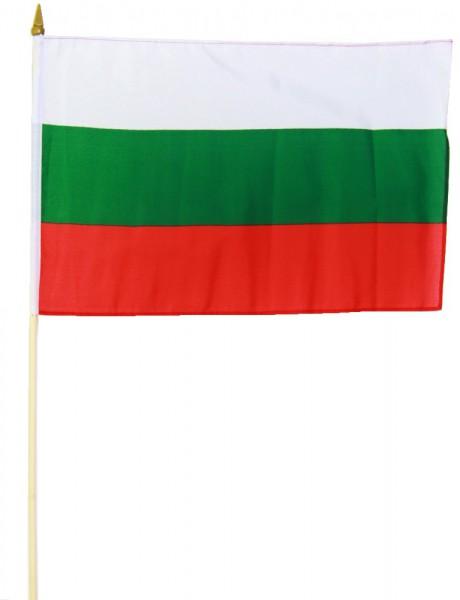 Bulgarien Stockflagge 30x45 cm