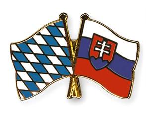 Bayern-Slowakei Freundschaftspin Flaggenpin