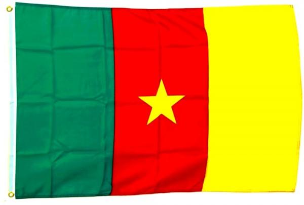 Kamerun Flagge 90 x 150 cm