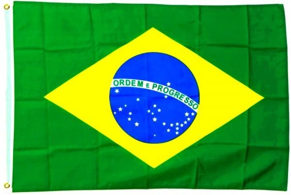 Brasilien Fahne/Flagge - 60cm x 90cm