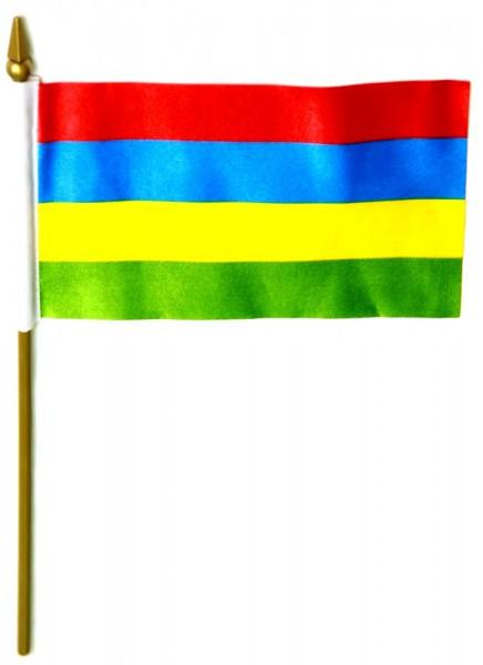 Mauritius Tischfahne 10x15cm