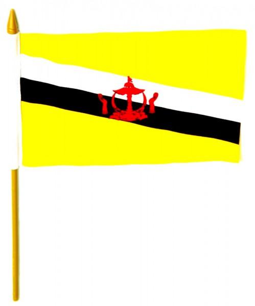 Brunei Tischfahne 10x15cm