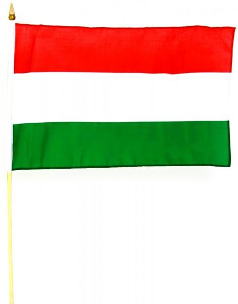 Ungarn Stockfahne 30 x 45 cm