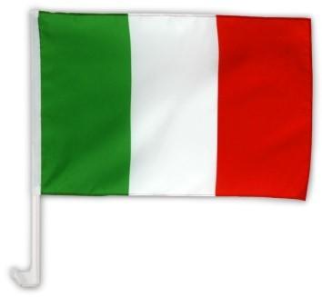 Italien Autofahne