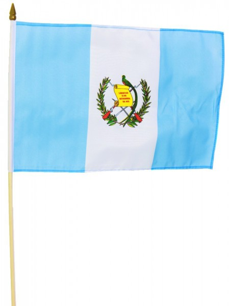 Guatemala Stockfahne 30cm x 45cm