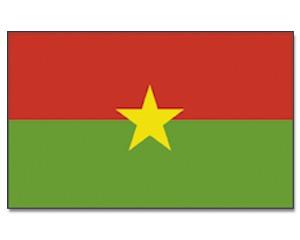 Burkina Faso Flagge 90 x 150 cm