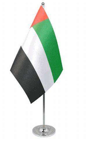 Vereinigte Arabische EmirateTischfahne 22,5x15cm Satin