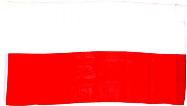 Polen Hohlsaumflagge 60x90 cm