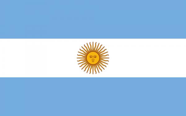 Argentinien 150cm x 250cm