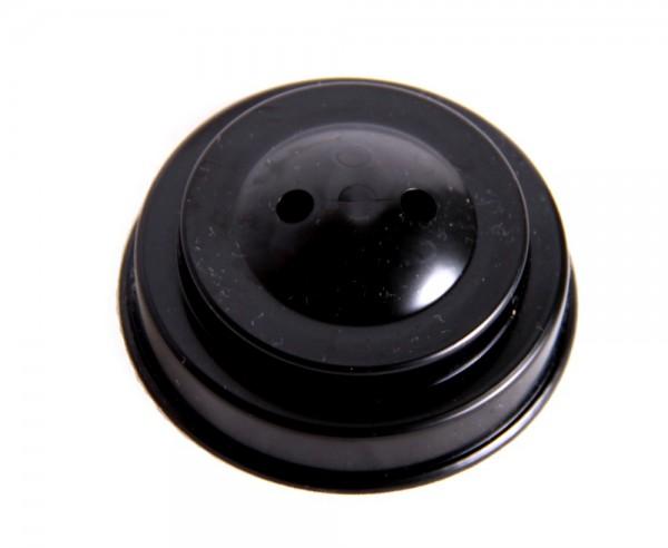 Tischsockel Schwarz für 2 Tischfahnen 10x15cm und 22x15cm
